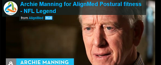 Archie Manning Recommends AlignMed!